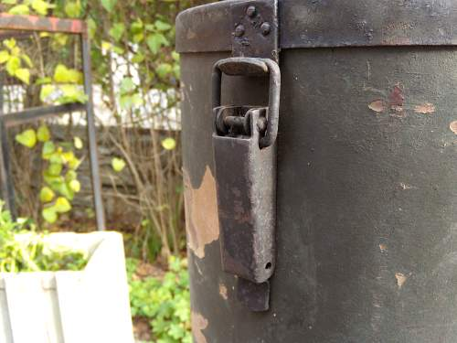 Krupp K5 railway cannon ammo boxes
