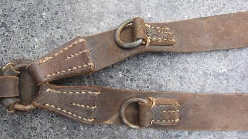 New set of Y-straps