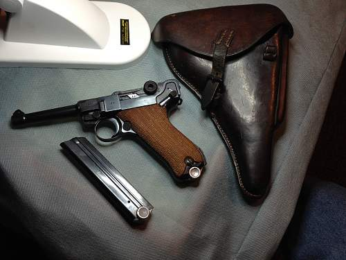 Luger Holster Question