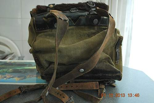 German backpack need some information.