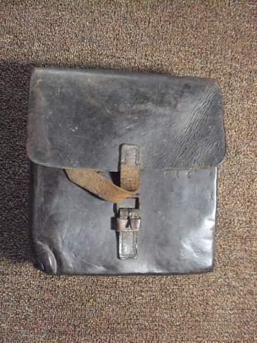 Ww2 german leather case ???