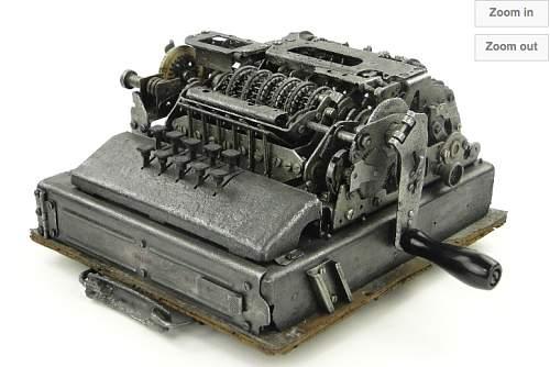 Rare SG-41z Nazi encryption machine circa 1944 - auction