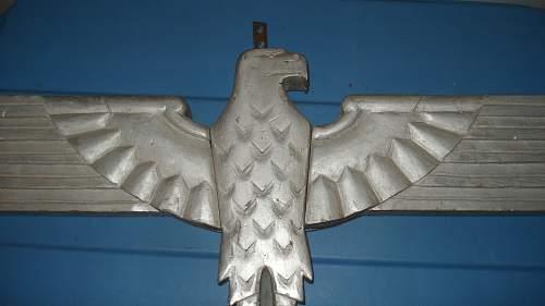 Odd Wooden German Eagle