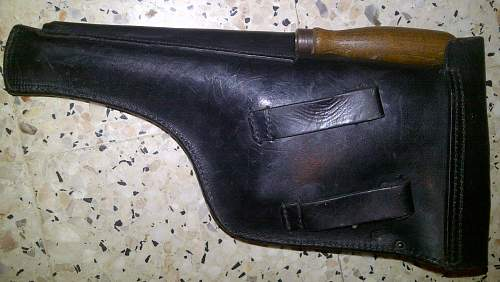 C 96 holster in use in the the german army WWII...