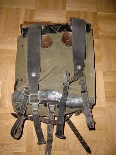 Wehrmacht Tornister.