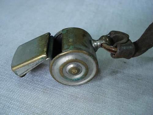 German Whistle