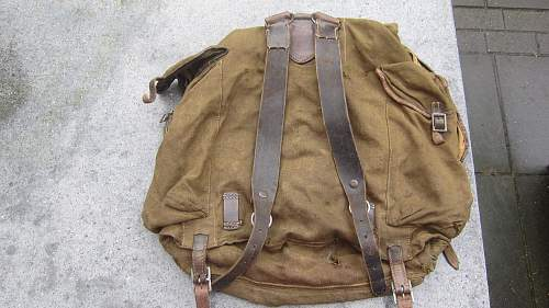 Wehrmacht backpack?