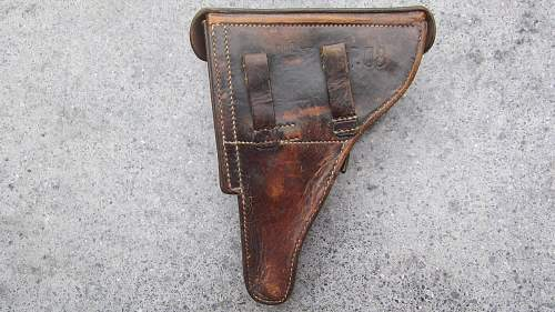 Luger P08 holster EPF