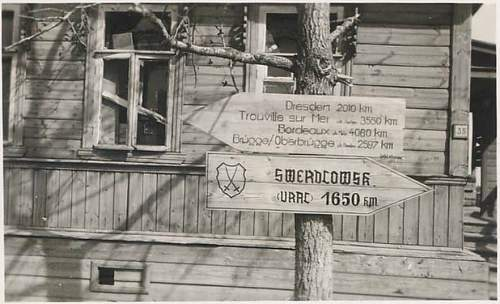 121st infantry division sign.  Real or not?