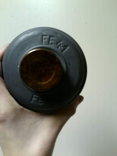 M38 gasmask
