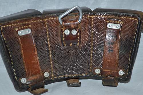 1939 Lighter brown K98 pouch