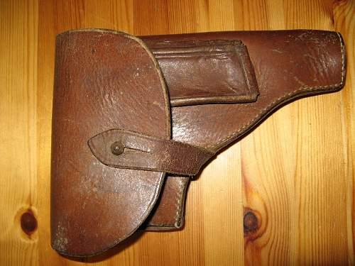 German pistol holster (P35, P38)?