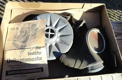 VM Gas Mask in Box