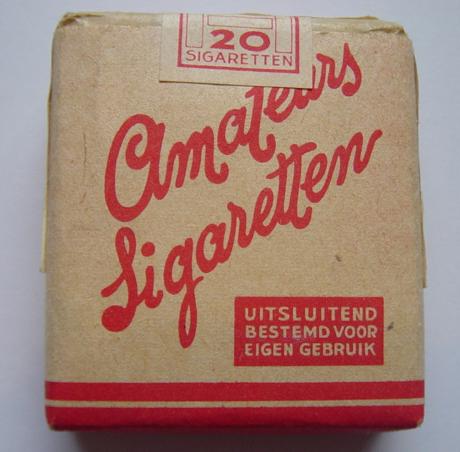 German Zigaretten display
