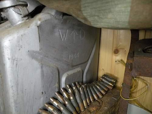 Wehrmacht wasser jerrycan 1943