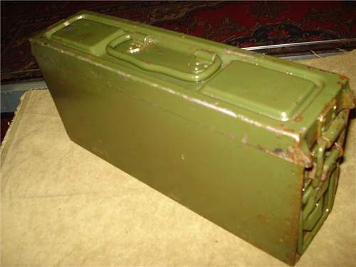 MG34/42 ammo can original paint?