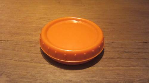 German bakelite butter dish