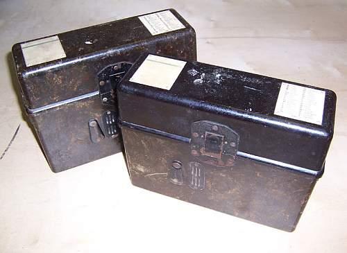 My pair of 1944 dated FF33 Feldfernspreche