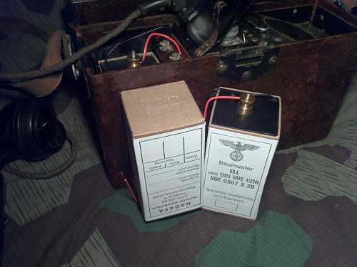 Reproduction FF33 Field Telephone batteries GOOD?