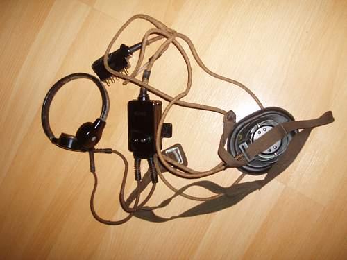 Few items of German Telephone equipment