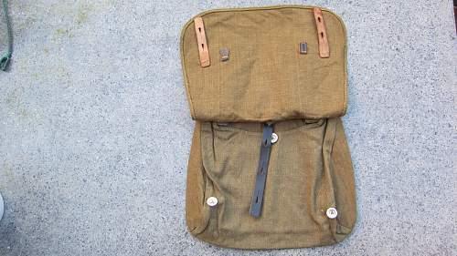 My new M31 breadbag