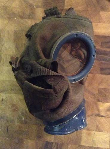 My first gas mask and canister