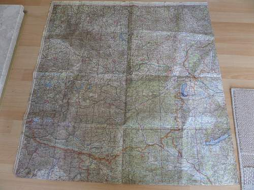 Luftwaffe rubber backed map fea market pick up
