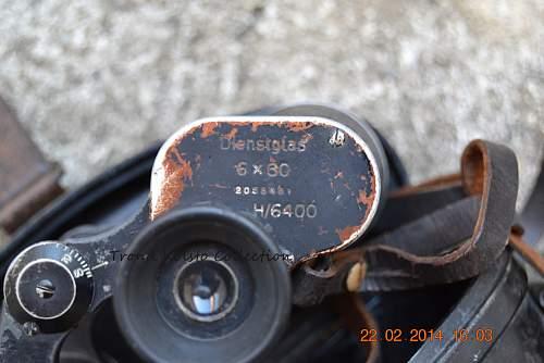 Binocular 6x30 found at weird place