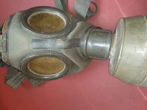 Gm 30 gas mask