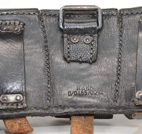 Ammo Pouch marked RBNr 0/0465/0012