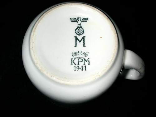 Kriegsmarine dishes & etc