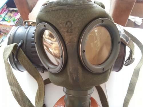 gas mask m30