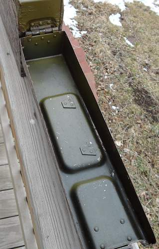 Ammo Can for MG42 or MG34 From Norway Capture Pile