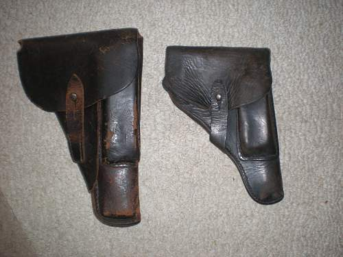 What pistol was this holster used with...PPK, Browning, etc?