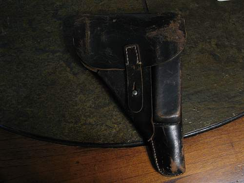 Who made this P38 holster