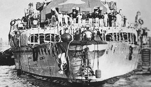 Lifebouy from the Panzerschiff Graff Spree: Original?