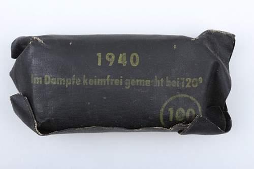 German bandage 1943