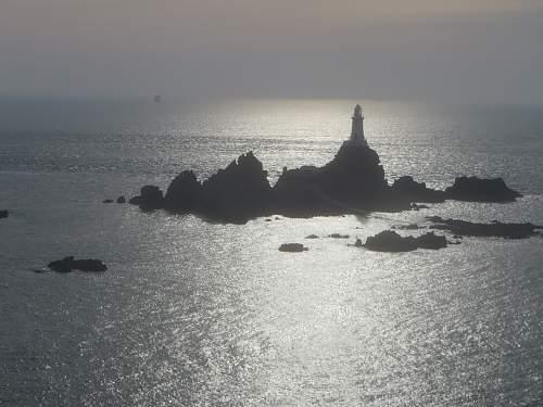 Marinepeilstande (MP2), La Corbiere, St.Brelade, Jersey, Channel Islands.