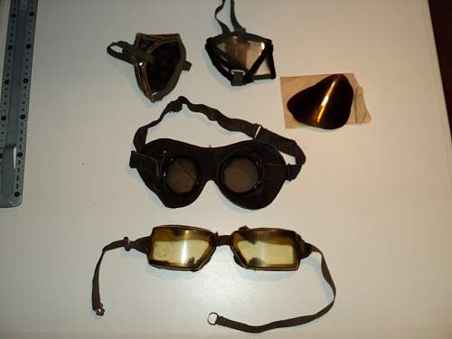 Some goggles