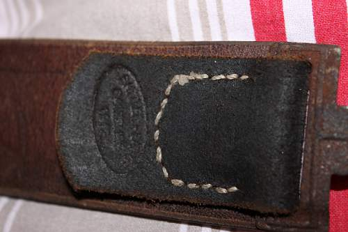 heer belt with ammo pouch and gw/k43 ammo pouch