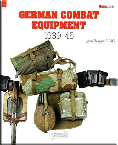 German Combat Equipment book by Jean-Philippe Borg
