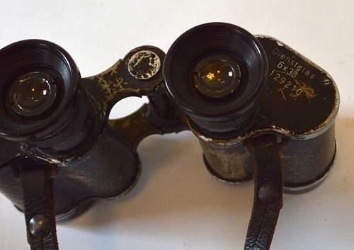 wierd paint sceme on these binoculars