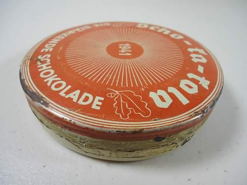 Scho-ka-kola 1941  A new purchase