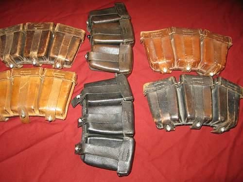 Patronentaschen 98K - Luft KM etc