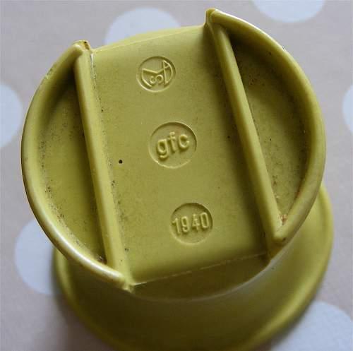 green bakelite cup canteen