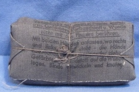 Real 1944 dated bandage?