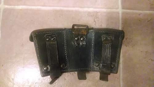 Late war K98 pouches?