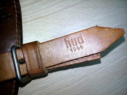 German Packtasche M34