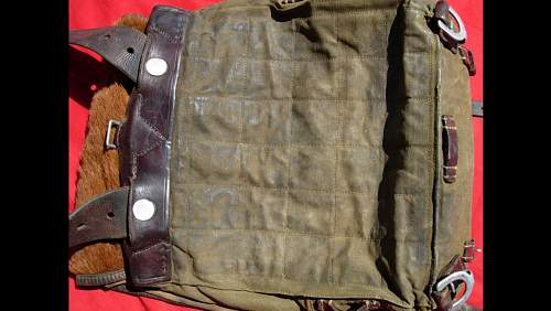 Is this an authentic German WW2 Wehrmacht military ruck sack backpack?