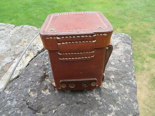 Leather battery box
